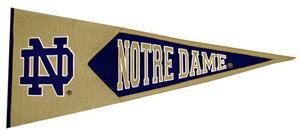 Winning Streak NCAA Notre Dame Traditions Pennant