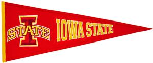 Winning Streak NCAA Iowa State Traditions Pennant