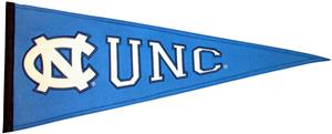 Winning Streak NCAA UNC Traditions Pennant
