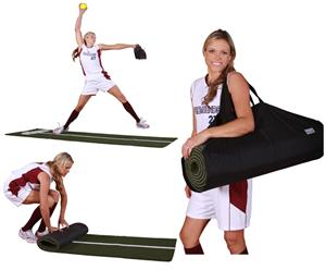 Promounds Jennie Finch Softball Mat w/Powerline
