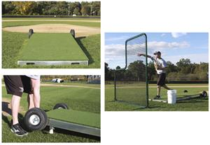 Promounds Collegiate Baseball Pitching Platform