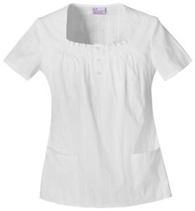 Skechers Women's Square Neck Scrub Top