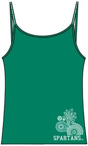 Emerson Street Michigan State Womens Stretch Cami
