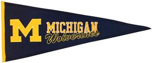Winning Streak NCAA Univ. of Michigan Pennant 
