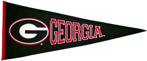 Winning Streak NCAA University of Georgia Pennant
