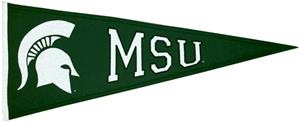 Winning Streak NCAA Michigan State Pennant