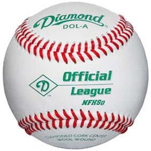 Diamond NFHS Official League Baseballs DOL-A C/O
