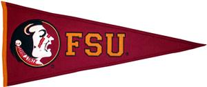 Winning Streak NCAA Florida State Univ. Pennant