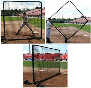 Promounds Premium Series 7'x7' Field Screen