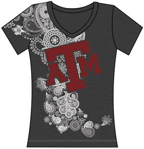 Emerson Street Texas A&M Womens Interactive Tee