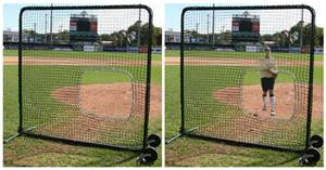 Promounds Premium Series 7'x7' Softball Screen