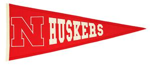 Winning Streak NCAA University of Nebraska Pennant