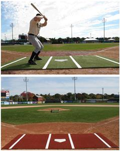 Promounds Softball Batting Mat Pro with Lines