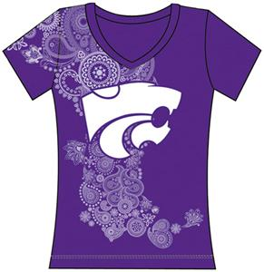 Emerson Street Kansas State Womens Interactive Tee