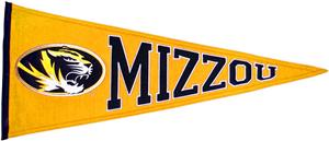 Winning Streak NCAA University of Missouri Pennant