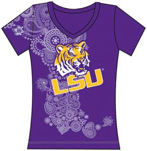 Emerson Street LSU Tigers Womens Interactive Tee