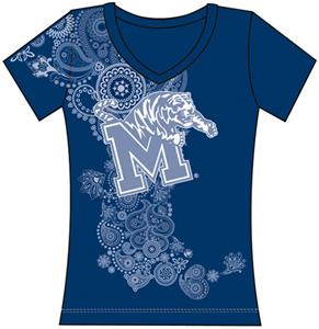 Emerson Street Memphis Womens Interactive Tee