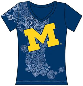 Emerson Street Michigan Womens Interactive Tee