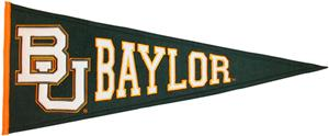 Winning Streak NCAA Baylor University Pennant