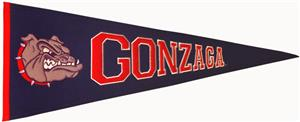 Winning Streak NCAA Gonzaga University Pennant