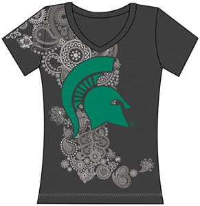 Michigan State Womens Interactive Tee