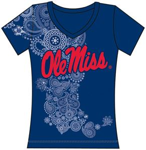 Emerson Street Ole Miss Womens Interactive Tee