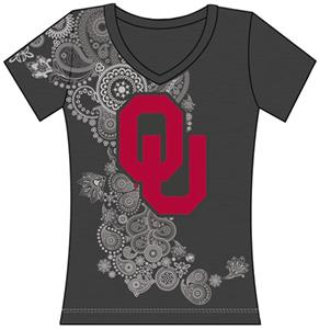 Emerson Street Oklahoma Womens Interactive Tee