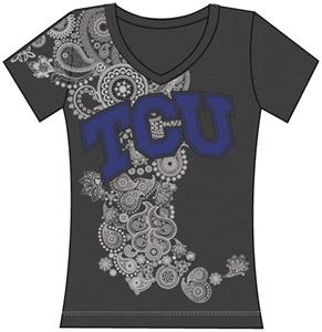 Texas Christian TCU Womens Interactive Tee