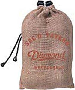 Diamond Sac O Taters Burlap Bag w/6 D-OB baseballs