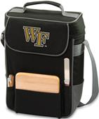 Picnic Time Wake Forest University Duet Wine Tote