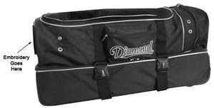 Diamond Deluxe Pro Umpire Gear Wheel Bag