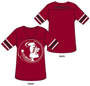 Florida State Burnout Football Jersey Nightshirt
