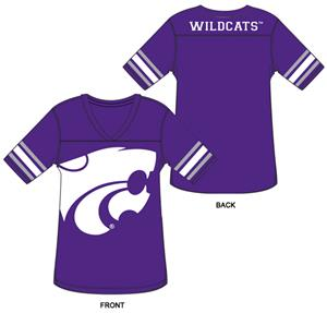 Kansas State Burnout Football Jersey Nightshirt