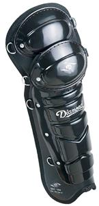 "Diamond DLG-US 15"" Baseball Umpire Leg Guards"
