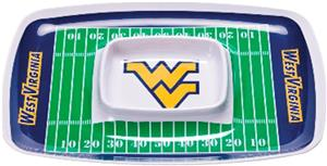 COLLEGIATE West Virginia Chip & Dip Tray Set of 6