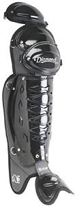"Diamond 18.5"" Umpire Baseball Leg Guards"
