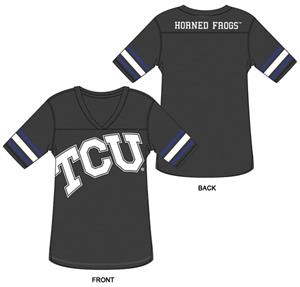 TCU Burnout Football Jersey Nightshirt