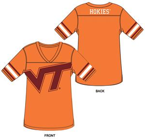 Virginia Tech Burnout Football Jersey Nightshirt