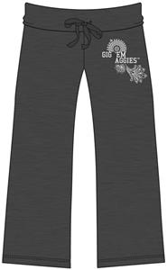 Emerson Street Texas A&amp;M Womens Heather Capri&#39;s