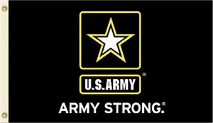 US Army Strong 3' x 5' Flag with Grommets