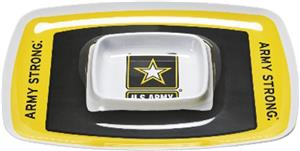 US Army Strong Chips & Dip Tray (Set of 6)
