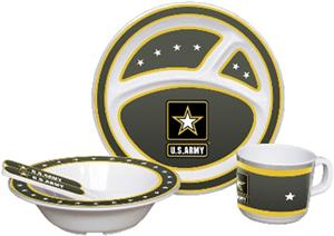 US Army Children's 5 Piece Dish Set