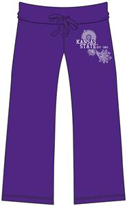 Emerson Street Kansas St Womens Heather Capri's