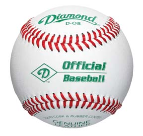 Diamond Economical Batting Practice Balls D-OB C/O