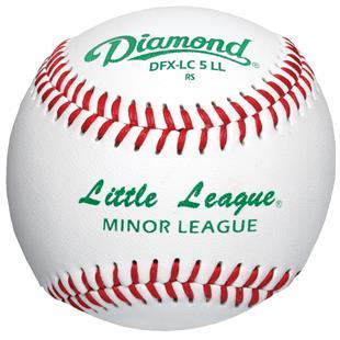 Diamond DFX-LC5 LL Little & Minor League Baseballs