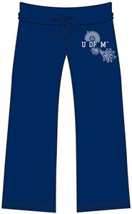 Emerson Street Ole Miss Womens Heather Capri&#39;s