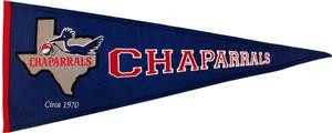 Winning Streak NBA Dallas Chaparrals Pennant