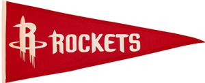 Winning Streak NBA Houston Rockets Pennant