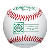 Diamond DDY-2 Dixie Youth Leather Cover Baseballs