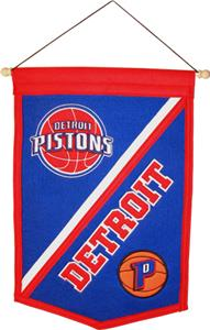 Winning Streak NBA Detroit Pistons Banner